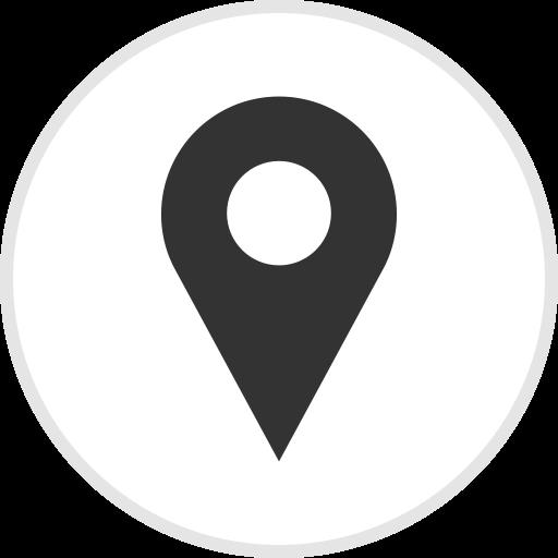Social Media Location Flat Icon