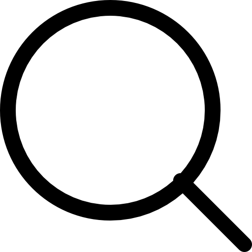 Magnifying Flat Icon