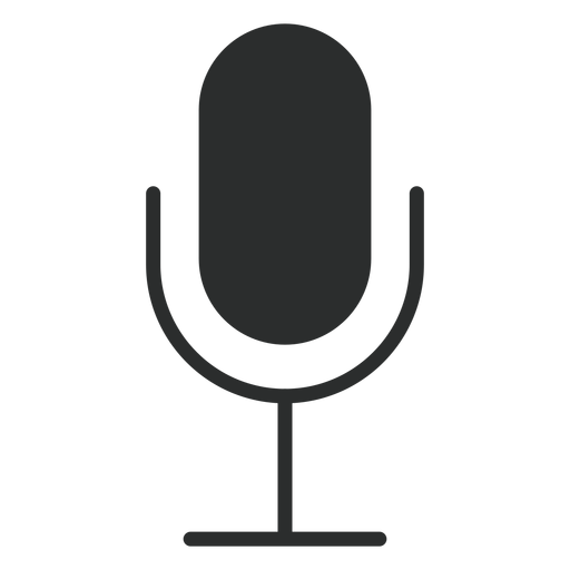 Multimedia Microphone Flat Icon