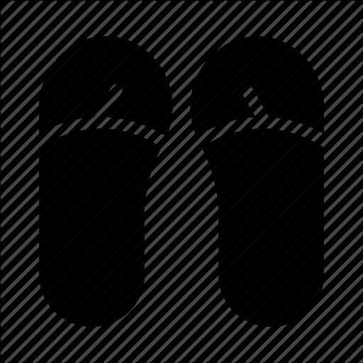Fashion, Flipflop, Footwear, Sandal, Slipper Icon