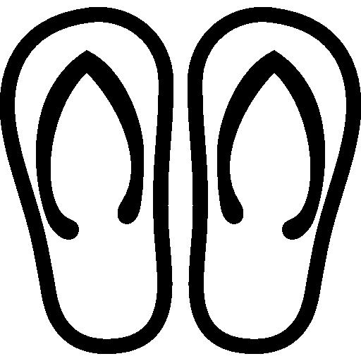 Clothing Flip Flops Icon Ios Iconset