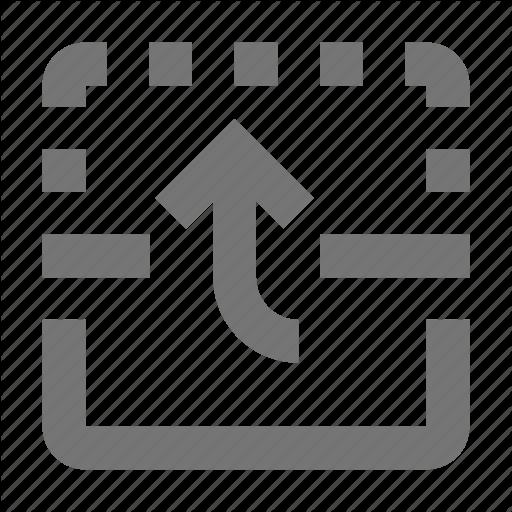 Arrow, Flip, Up Icon