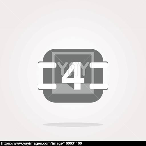 Vector Calendar Button