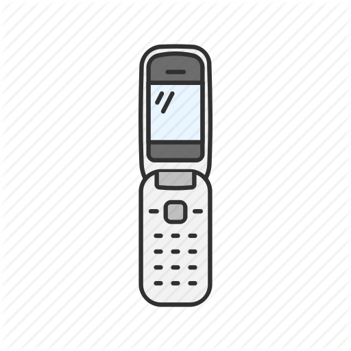 Cell Phone, Classic Phone, Flip Phone, Phone Icon