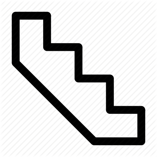 Floor, Floors, Staircase, Stairs Icon