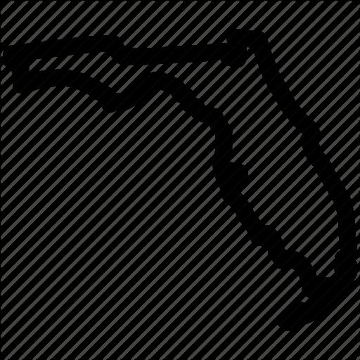Florida, Florida Map, Florida State, Map Icon