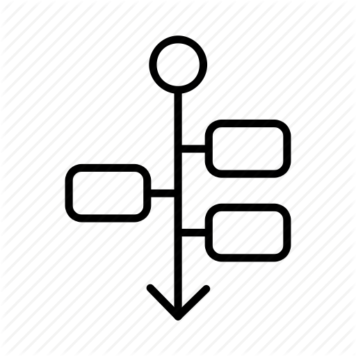 Chart, Diagram, Draft, Flowchart, Flowsheet, Graph, Timeline Icon