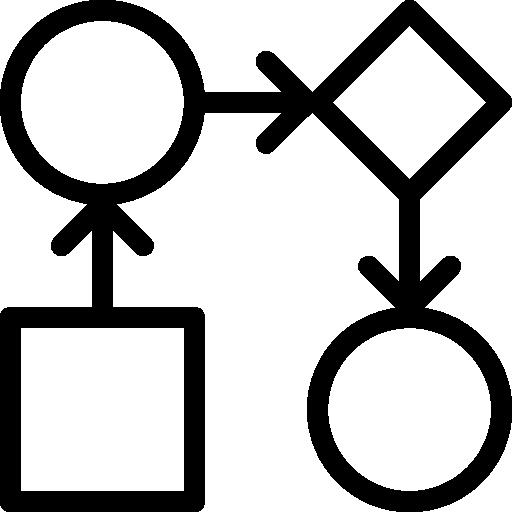 Data Workflow Icon Ios Iconset