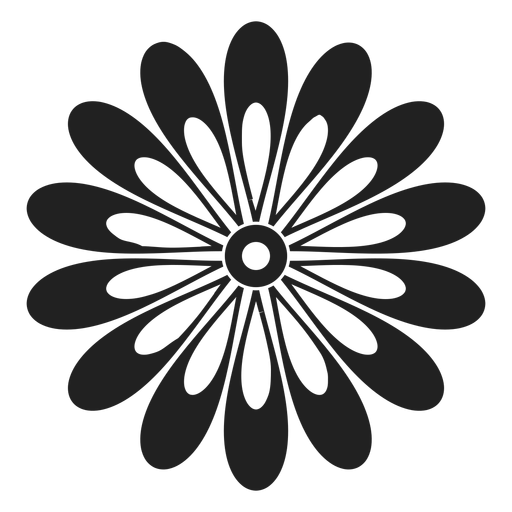 Gerbera Daisy Flower Icon