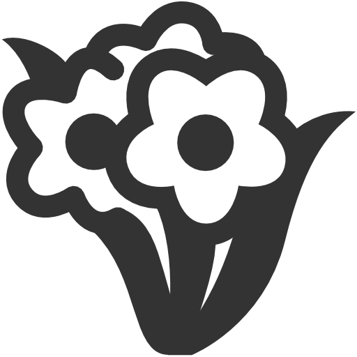 Bunch, Flower Icon