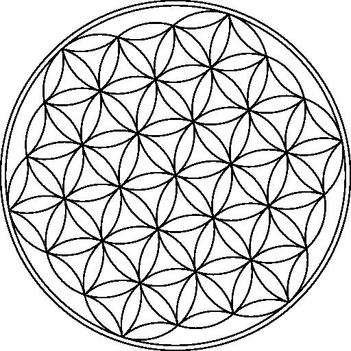 Flower Of Life Symbol Clipart