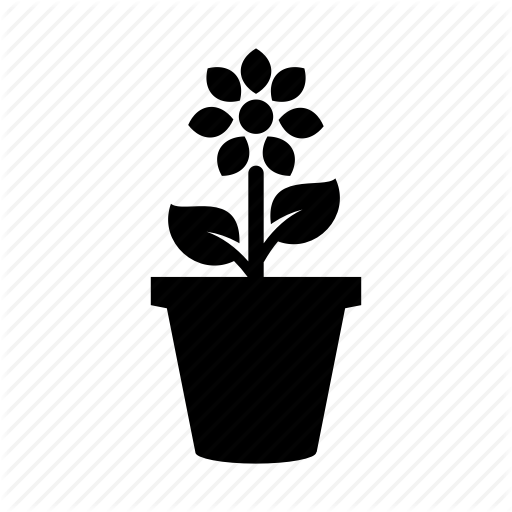 Flower, Flower Pot, Garden, Pot Icon