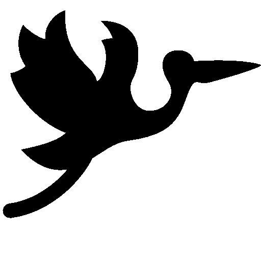Baby Flying Stork Icon Windows Iconset
