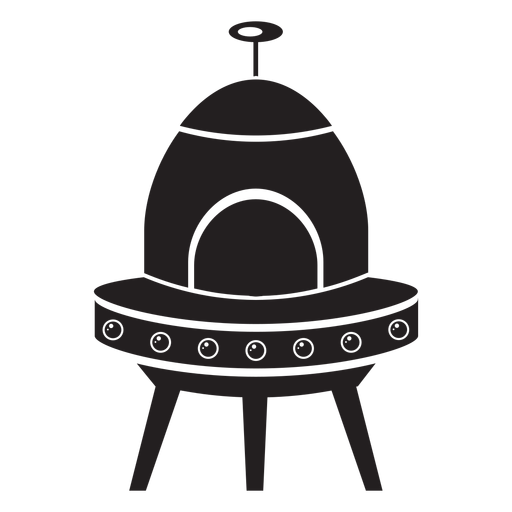 Flying Saucer Kids Flat Icon