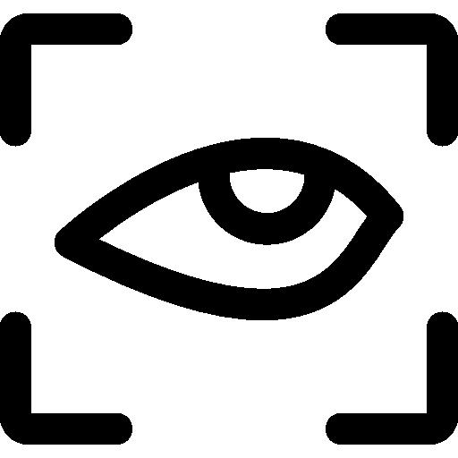 Eye Focus Symbol