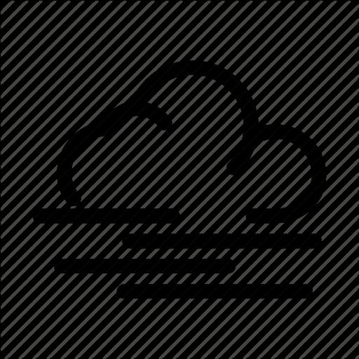 Climate, Fog, Fog Cloud, Misty, Weather Icon
