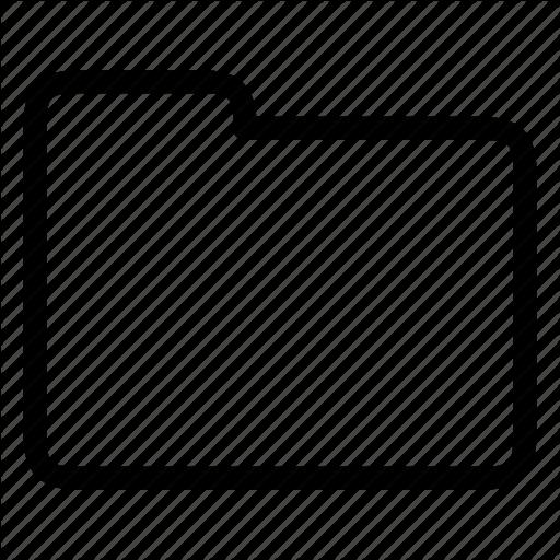 Folder, Storage Icon