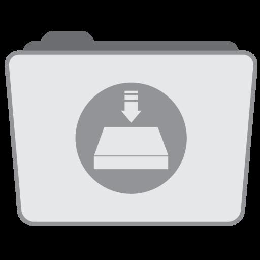 Folder Server Icon Stock Folder Style Iconset Hamza Saleem