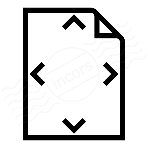 Iconexperience I Collection Document Size Icon