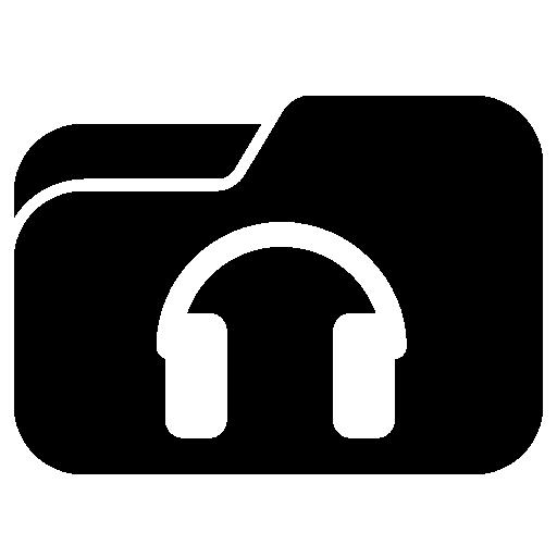 Music Folder Icon Free Icons Download