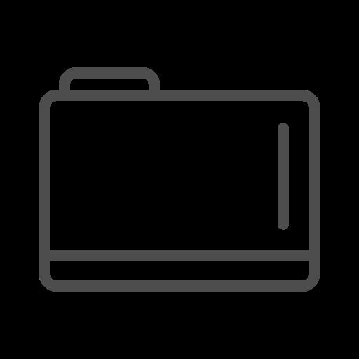 Folder, Folder Icon, Folder Line Icon Icon