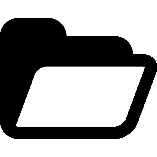 Very Basic Opened Folder Icon Windows Iconset