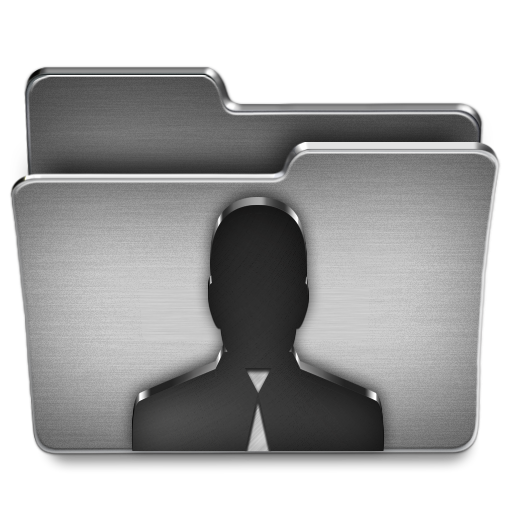 User, Folder Icon Free Of Steel System Icons