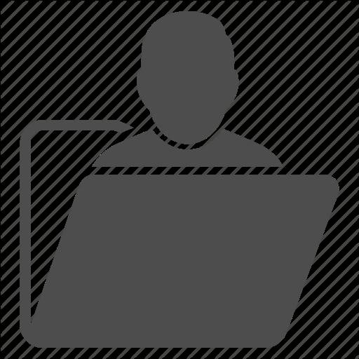 Account, Directory, Document, File, Person, Profile, User Folder Icon