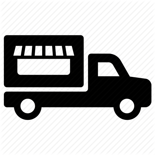 Food Delivery, Food Truck, Truck Icon