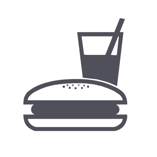 Chain, Eating, Fast Food, Restaurant Icon