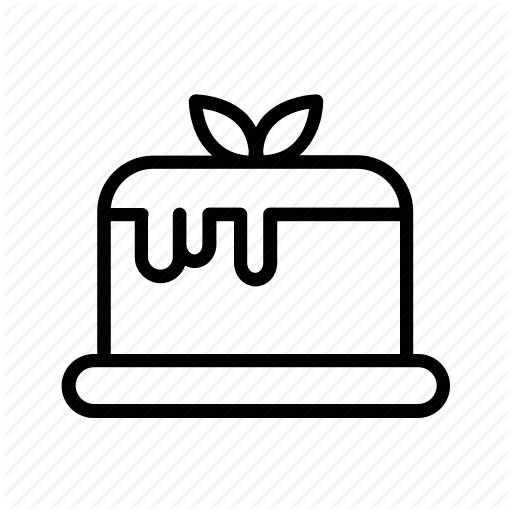 Beverage, Cake, Dessert, Food, Menu Icon
