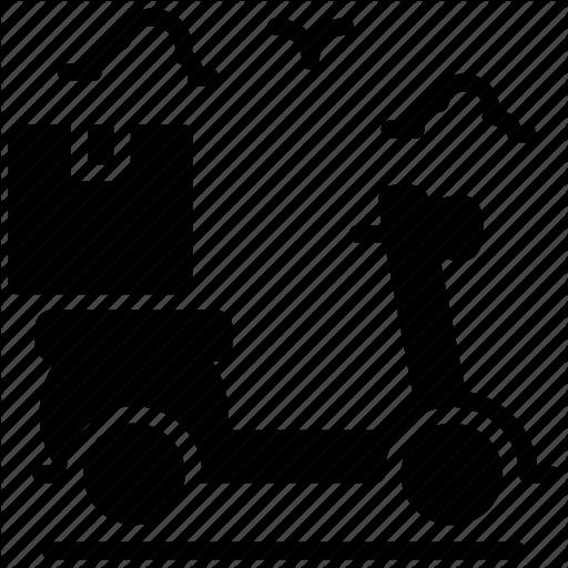 Delivery Bike, Delivery Service, Doorstep Delivery, Food Delivery