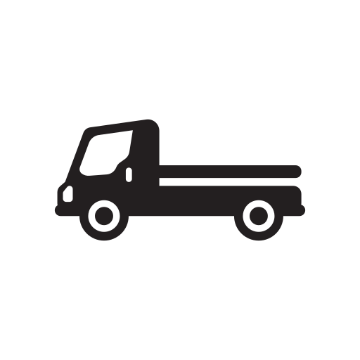 Flatbed, Flatbedlorry, Isometric, Lorry, Truck Icon Free