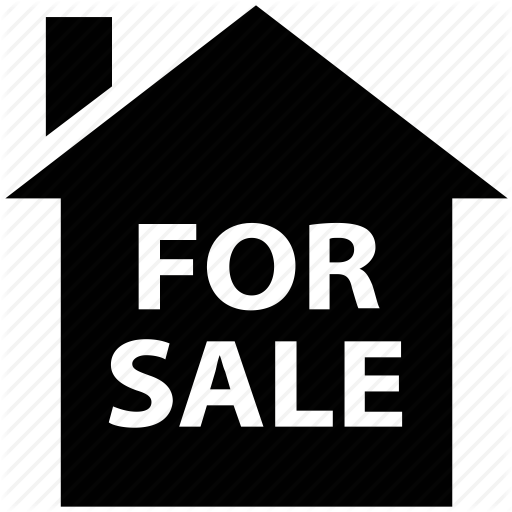For Sale, House, Property Sale, Real Estate Icon