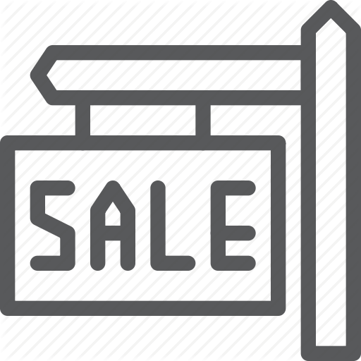 Board, Estate, Info, Real, Sale, Sell, Sign Icon