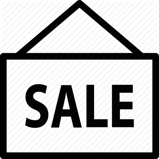 For Sale, Real Estate, Sale, Sign, Signs Icon
