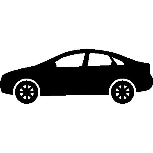 Sedan Car Model Icons Free Download