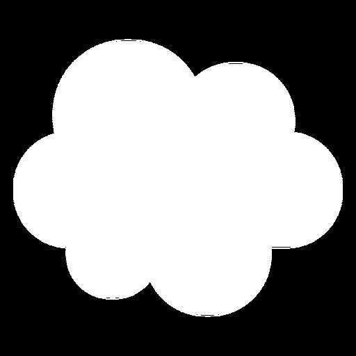 Cloud Forecast Flat Icon