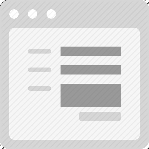 Web Form Icon Png