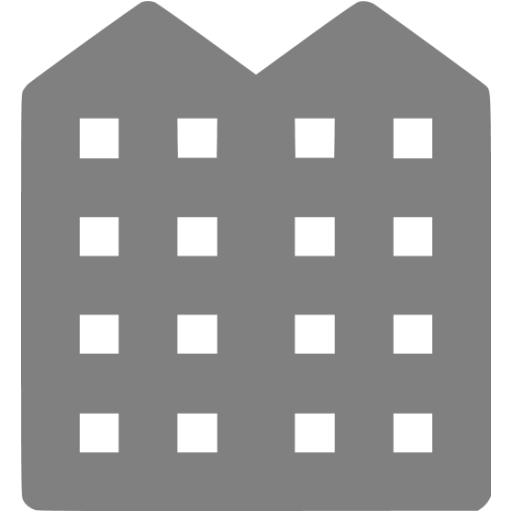 Gray Apartment Icon