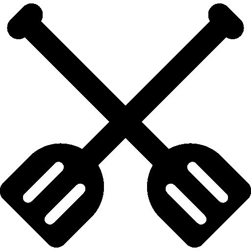 Rower, Paddles, Rowing, Kayak Icon