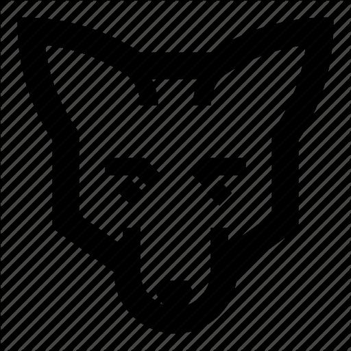 Animals, Face, Fox Icon