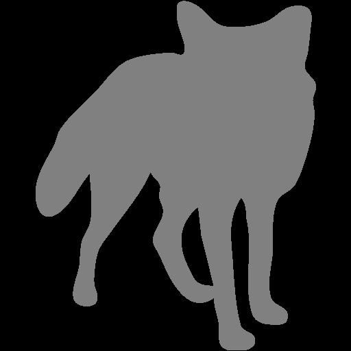 Gray Fox Icon