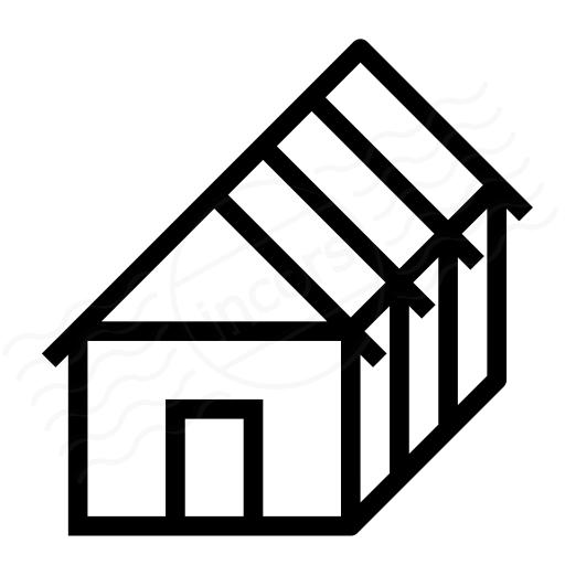 Iconexperience I Collection House Framework Icon