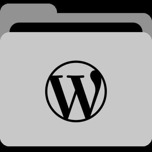 Folder, App, Storage, Wordpress, Social, Collection, Framework Icon