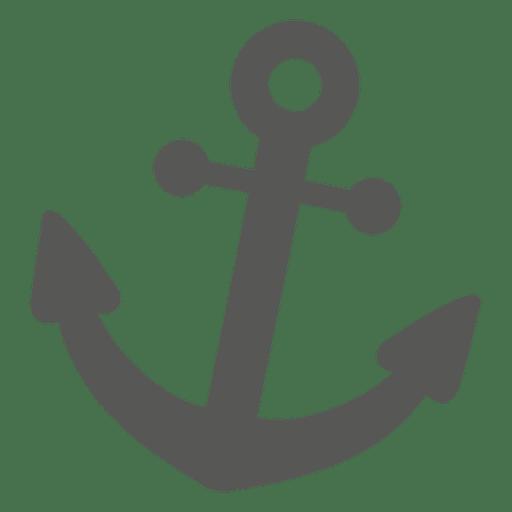 Anchor Icon Silhouette