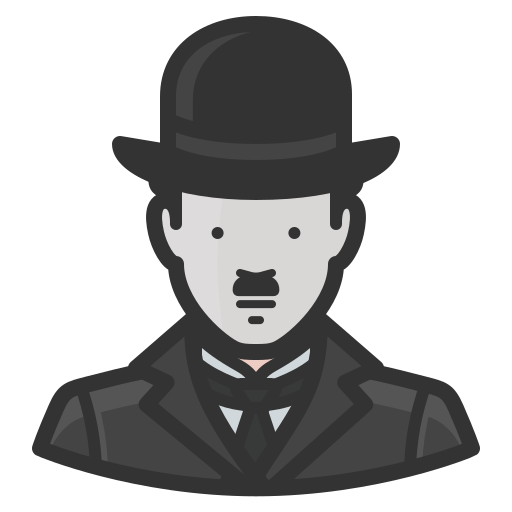 Charlie, Chaplin, Avatar Icon Free Of Avatars