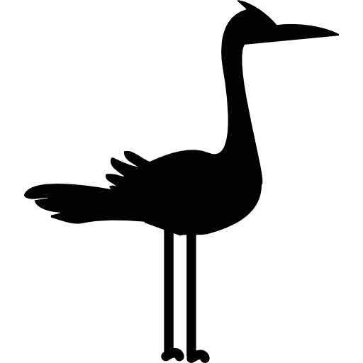 Stork Free Vector Icons Designed