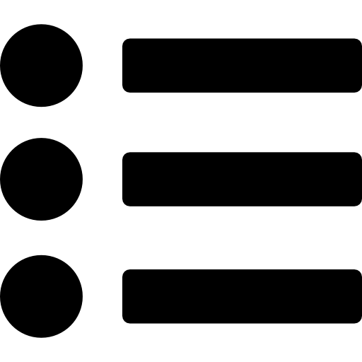 List With Bullets Icons Free Download