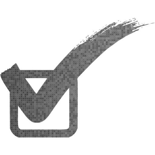 Custom Color Check Mark Icon